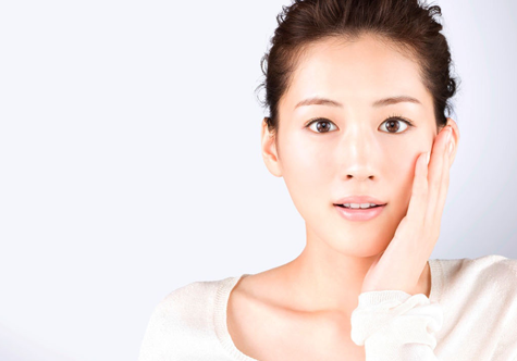 One of the faces of SK-II