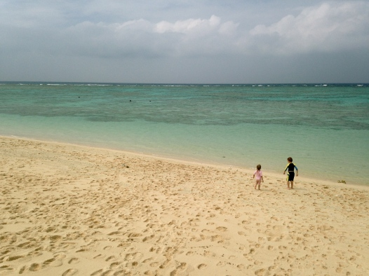 Pre-typhoon clouds